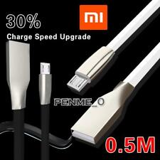 0.5M MICRO USB 2.0 ALLOY CHARGING CABLE DATA SYNC FOR Xiaomi Redmi 2A Enhanced