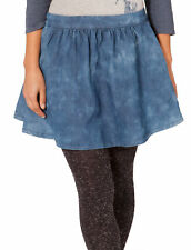 Donna Minigonna di jeans - Blu (SKIRT75) gonna denim midi gonna alla moda