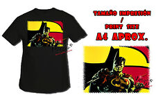 T-SHIRT BATMAN VS SUPERMAN DOPPIO NERA tshirt custom es