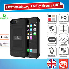 Armor Rugged 3000mAh Power Battery Charger Slim Case Cover For iPhone 6 6s 7 8+