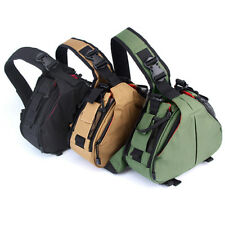 DSLR Camera Backpack Sling Case Photographers For Nikon Canon Travel Carry Bag