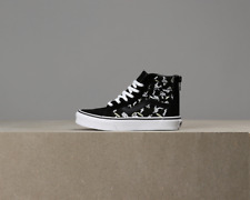 X Vans Kids SK8-Hi Zip Astronauts - Black / True White
