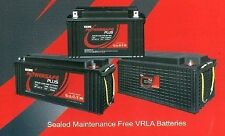Exide Powersafe Sealed Maintenance Free Battery for UPS, Solar 7AH to 100AH