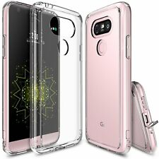 Ringke FUSION Series Shock Absorption Clear Back TPU Bumper Case for LG G5 JE