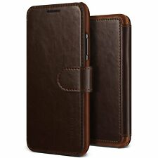 VRS Design Layered Dandy Series PU Leather Card Slot Wallet Case for iPhone X JE