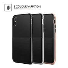 VRS Design High Pro Shield Series Shock Resistant Sleek Case for iPhone X JE