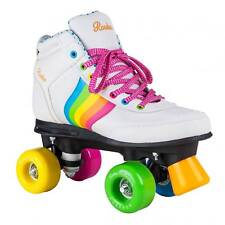 Rookie - Forever Rainbow V2 - Patines quad - Blanco / multicolor