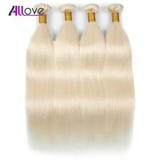 9A 613 Color Straight Brazilian Hair Weave 100% Virgin Remy Human Hair Extension