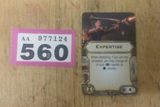 Star Wars X-Wing Miniatures Game Expertise upgrade card