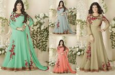 Bollywood Pakistani Ethnic Salwar kameez Indian Party Anarkali Designer Dress A