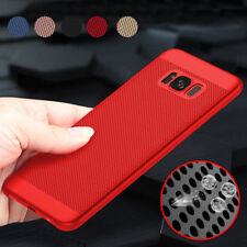 Luxury Shockproof Ultra Thin Mesh Case Hard Back Cover For Samsung Galaxy iPhone