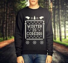 GAME OF THRONES 'WINTER IS COMING' CHRISTMAS JUMPER / SWEATSHIRT