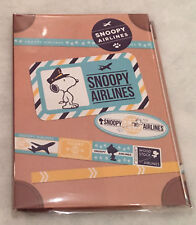 SNOOPY AIRLINES STICKY NOTES with WOODSTOCK