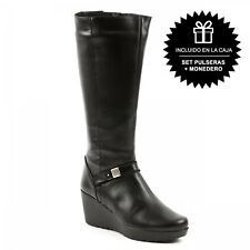 Bota Casual Mujer Negro Notting Hill Collection-1342