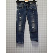 PEPE JEANS PANTALONE JEANS CUCITURE GIALLE BIMBO 4 ANNI