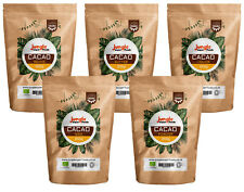 Cacao Beans Raw Powder Nibs Liquor Butter Cocoa 100% Organic - Jungle Superfoods