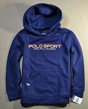 NWT KIDS BOYS POLO RALPH LAUREN SPORT PERFORMANCE PULLOVER JACKET HOODIE SZ 2T-L