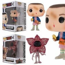STRANGER THINGS/ FUNKO POP ELEVEN WITH EGGOS  - VINIL FIGURE IN BOX GIFT -IT