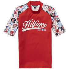TOMMY HILFIGER Camiseta UV Flower Swim TEE Tamaño 80 ,86 ,92 ,98 ,104 ,110 ,