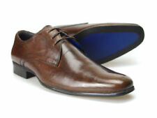 Red Tape Leven Marrone Uomo Scarpe in pelle UK 6-11