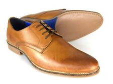 Red Tape Shannon fauve pour hommes chaussures cuir 6-12 UK