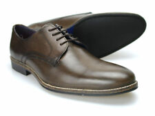 Red Tape Shannon brun pour hommes chaussures cuir 6-12 UK