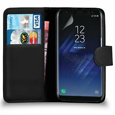 New For Samsung Galaxy S8 & S8 PLUS Wallet Case Cover Flip Leather Case Cover