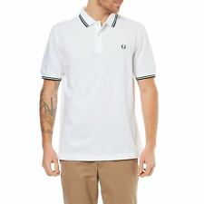 Fred Perry - Polo manches courtes - blanc
