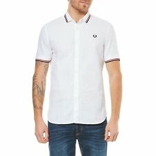 Fred Perry - Chemise style polo - blanc