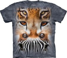 The Mountain Unisex Adult Zoo Face Totem Zoo T Shirt