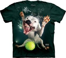 The Mountain Adult Underwater Dog Grace Seth Casteel T Shirt