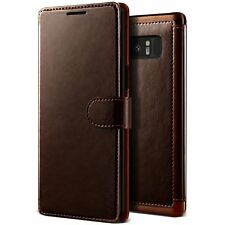 VRS Design Layered Dandy Series Leather Wallet Case for Samsung Galaxy Note 8 JE
