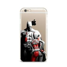 Batman Harley DC iPhone X XS Max XR Silicone Case iPhone 4s 5s 6s 7 8 Plus Cover