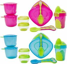 Vital Baby 8 PIECE START WEANING KIT Baby/Toddler Feeding Cup/Plate/Spoon BNIB