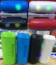 Powerfull Portable Bluetooth Wireless Stereo Speaker With Lights FM TF USB AUX.