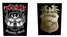 <  TANKARD - ALCOHOLIC METAL / CREST LOGO - OFFICIAL GIANT SEW-ON BACKPATCH