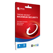 Trend Micro Maximum Security 2017 All-in-one protection for PC, Mac, Android or