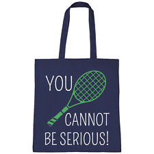 batch1 You Cannot Be serio John McEnroe Wimbledon torneo borsa grande shopper