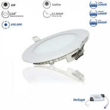 Downlight Led Redondo Ultra Plano 6W