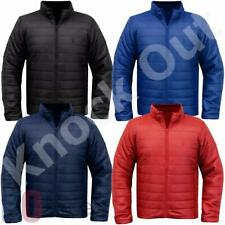 Mens Padded Quilted Lightweight Jacket Packa Bag Puffa Coat Size BNWT