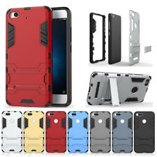 Rugged Rubber Hard Armor Hybrid Stand Case Cover Shockproof For Xiaomi Mi Phones