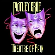 < MOTLEY CRUE - RED WHITE / THEATRE OF PAIN - OFFICIAL GREETING / BIRTHDAY CARD