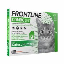 FRONTLINE COMBO POUR CHATS FORMAT PIPETTES SPOT-ON NOUVEAU PACKAGING