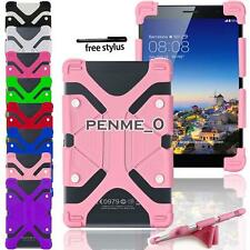 "For 7"" 8"" COLORFUL Colorfly Tablet Shockproof Silicone Stand Cover Case + Stylus"