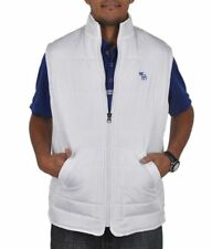 A & F BRANDED HIGH QUALITY REASONABLE PRICE SLEEVELESS WHITE QUILTED JACKET