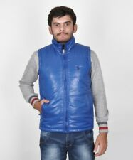 BRANDED SURPLUS HIGH QUALITY REASONABLE PRICE SLEEVELESS R.BLUE QUILTED JACKET