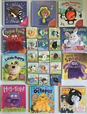 Puppet books collection Bear Hug Octopus Tickle Monkey Incy Wincy Spider twinkle