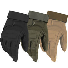 Men Gloves Army Tactical Glove Military Full Finger Outdoor Sport Driving Mitten