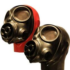 Rubber Hooded S10 Gasmask,  Hood in choice of  Colours  Into Latex