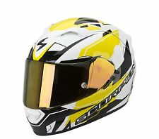 CASCO INTEGRALE MOTO SCORPION EXO 1200 AIR SHARP FIBRA VETRO SISTEMA AIRFIT GIAL